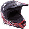 Motorfist Magneto Snowmobile Helmet - Red-White