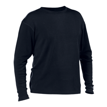 Castle X Minus 33 Mid-Weight Crew Neck Top - Black
