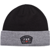 FXR Ride Co Beanie - Grey Heather-Red
