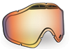 509 Sinister X5 Goggle Lenses - Fire Mirror / Clear