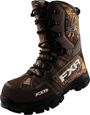 FXR X Cross Camo Boot Snowmobile  - Realtree Xtra